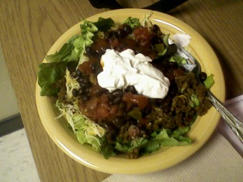 BEST...TACO...SALAD...EVER!