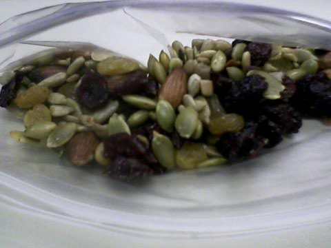 Cranberry trail mix from my secret santa