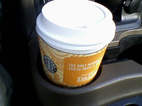 Starbucks' Skinny vanilla latte (tall)