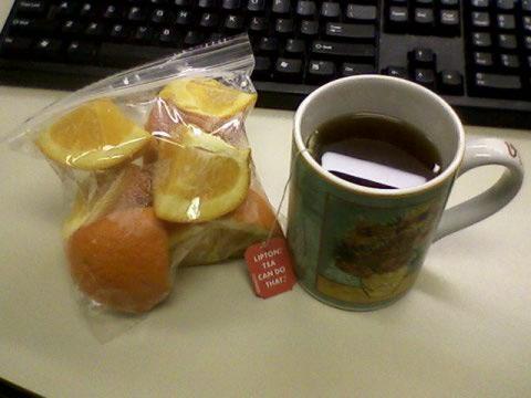 00 drag! Plus some tea.