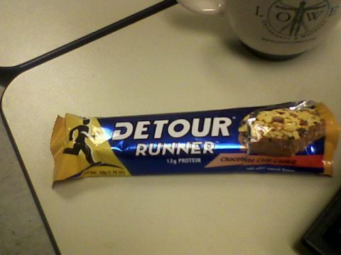 Detour Runner bar - Chocolate Chip