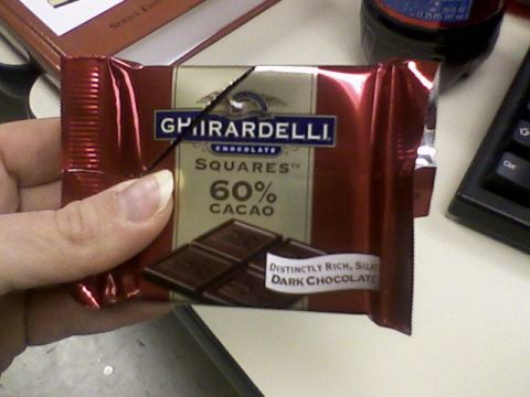 Ghirardelli...oh yeah!
