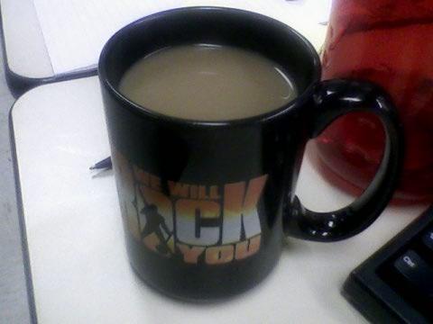 Coffee + chocolate milk
