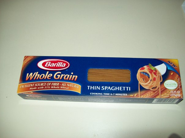 The best brand of whole grain pasta I've had so far!